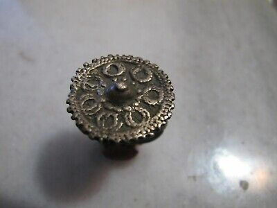 Antique Byzantine Low Silver Ring