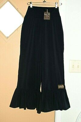 Matilda Jane Crop Big Ruffles Pants Women's Sz XS NWT Pls Read!!