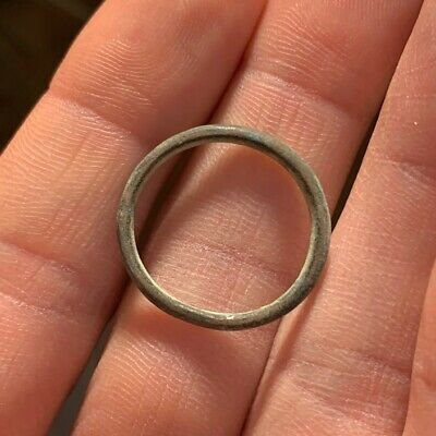 NICE! ANCIENT AE23 Bronze CELTIC PROTO TYPE Ring MONEY 500BC 1.5g