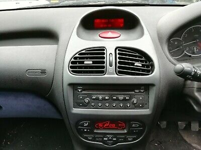 Peugeot 206 Digital Clock Radio Multi Function Information Display Trip Computer