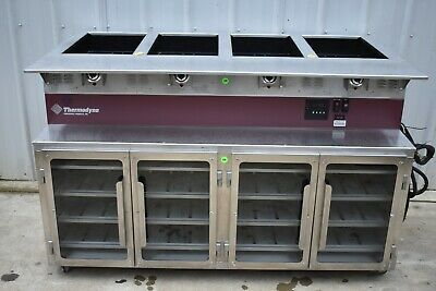 THERMODYNE 744HW COOK & HOLD OVEN with DRY HOT FOOD WELL (STEAM TABLE)