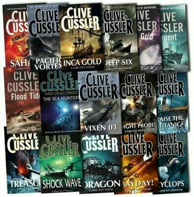 Clive Cussler 's ebook collection lot 80+ books (Epub/Mobi/Pdf) email download