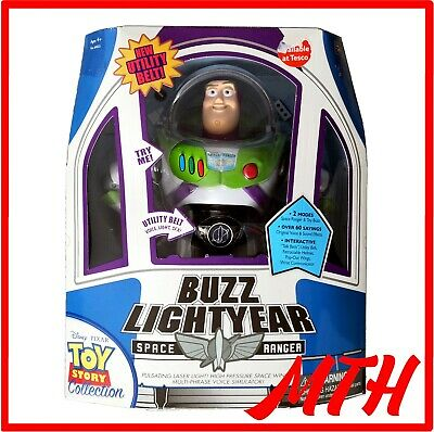 Toy Story Collection Utility Belt Buzz Lightyear Thinkway Toys w/ COA - BOXED