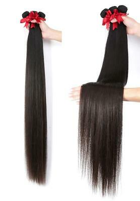 "18"" & 22"" European Virgin 9A Grade Human Hair Extensions Weft / Weave #2 Brown"