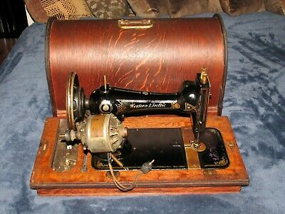 Vintage/antique Western Electric portable sewing machine