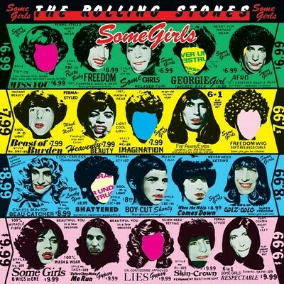 Rolling Stones Some Girls Remastered CD NEW