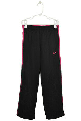 Nike Girls Pants Sweatpants S Black Polyester