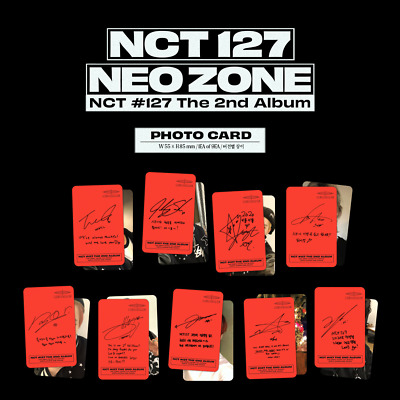 NCT127 Neo Zone 2nd Album [Photo Card] (C VER.)