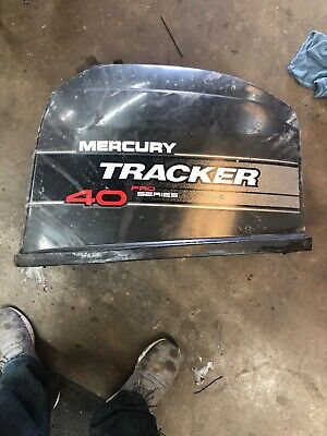 Mercury 40hp tracker top cowling 2198-9868t13