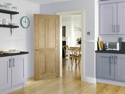 Deanta Eton Internal Solid Core Door (Brand New) - Beautiful Oak