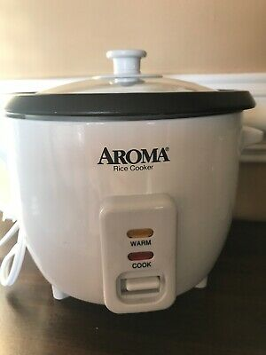 Aroma Rice Cooker 3 Cups ARC-363NG Pre-owned