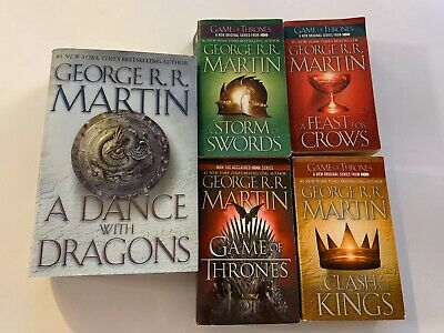 Song of Ice and Fire: A Game of Thrones Set : A Game of Thrones, A Clash of...