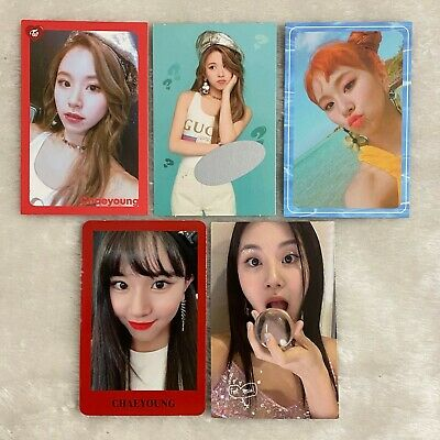 TWICE Chaeyoung Photocards What is Love, Summer Nights, Yes or Yes, Feel Special
