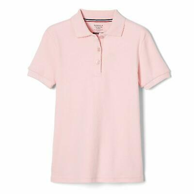 UNACOO Toddler Girls Polo Shirt with Picot Collar Cotton Short Sleeve T-Shirt Age 2-8 Years