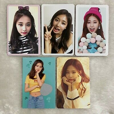 TWICE Tzuyu Photocards What is Love, Summer Nights, Yes or Yes, Feel Special