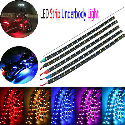 30/60/90/120 Underbody Neon Lights LED Strip Car Underglow System For Motorcycle