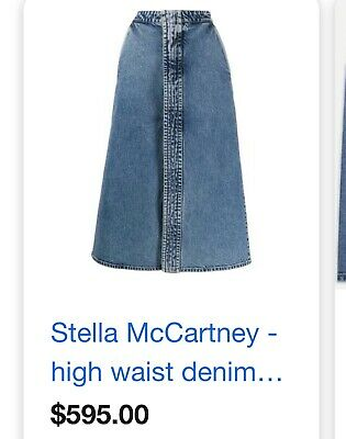 Stella McCartney denim  skirt new with tags