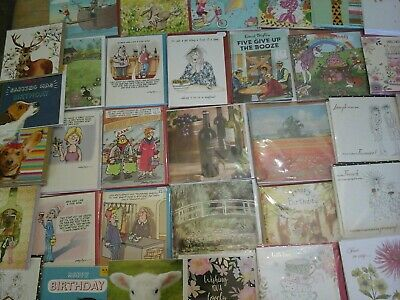 80 J Mix Cards, Wholesale Joblot Greeting Cards