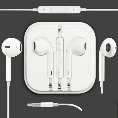 New Apple Headphones Earphones Handsfree With Mic for iPhone 5s 6 6s plus ipad