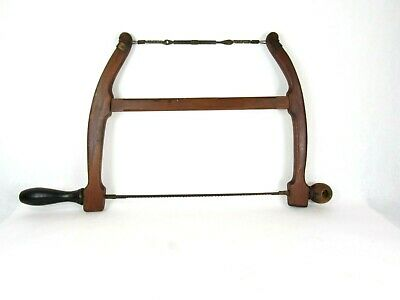 Great Very Early  Bow Turning Saw Beautiful Antique Tool Inv T1553