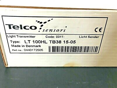 New Telco Lt 100 Hl Tb38 15 Photoelectric Light Transmitter Cable