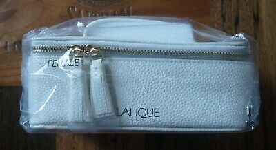 *Sealed* Singapore Airline First Class Amenity Kit by Lalique - Female