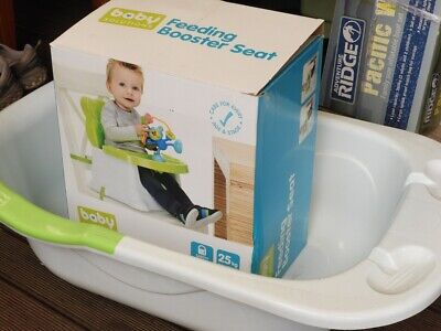 Baby Feeding Booster Seat and Bath Tub Excellent Condition !!!