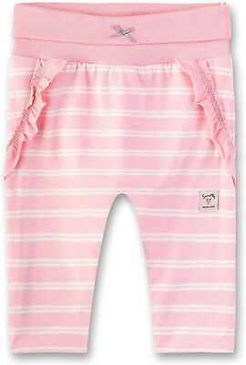 Sanetta Baby Girls' Sweatpants Lined Tracksuit Bottoms, Pink (Lolly 3053), 68