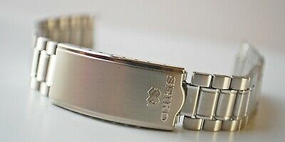 ORIGINAL SEIKO SQ B1319S STAINLESS STEEL WATCH STRAP 19mm-NEW OLD STOCK