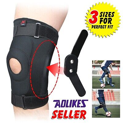 Knee Brace Support Adjustable Strapping Breathable Brace for Arthritis Cycling