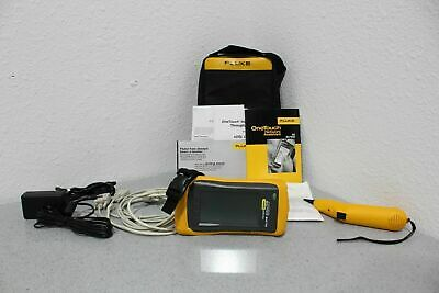 Fluke 10/100 OneTouch Network Assistant Throughput Option & Toner Included