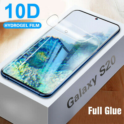 Front Film Soft Hydrogel Screen Protector For Samsung Galaxy S20 Plus S20 Ultra