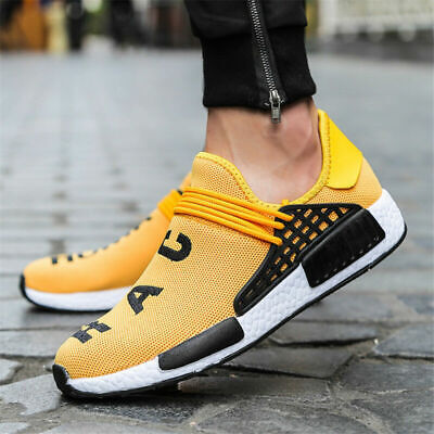 Mens Trainers Sports Shoes Athletic Running Mesh Casual Sneakers Ultralight UK