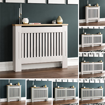 Arlington Radiator Cover White Grey Modern Traditional Grill Cabinet Furniture
