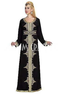 Royal Luxurious Wedding Gown Married Caftan With Hand Made Embroidery 5872
