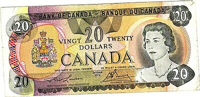 A 20 Dollar Banknote from Canada