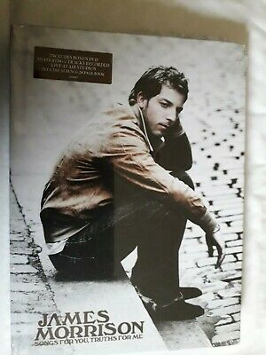 James Morrison Songs For You Truths For Me Cd + Dvd New Sealed Deluxe With Book