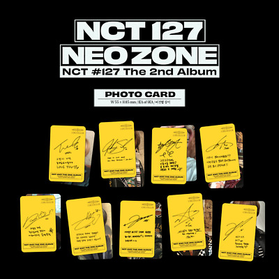 NCT127 Neo Zone 2nd Album [Photo Card] (N VER.)