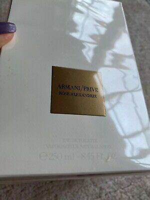 Armani Prive Rose Alexandrie EDT 250 ml NEU OVP
