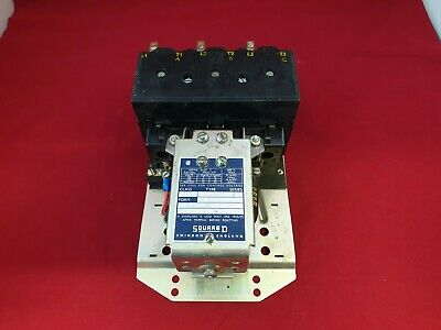 Square D 8502 DO-2 Contactor 110/120 Volt Coil 50 Amp