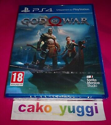 God Of War Ps4 Sony Ps4 Neuf Sous Blister Version 100% Francaise