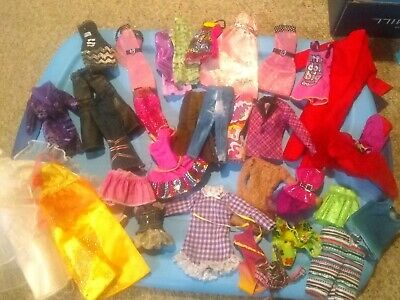 BARBIE Doll Clothes Clothing 30+ pc  Bridal,Swimwear Dresses, Jeans