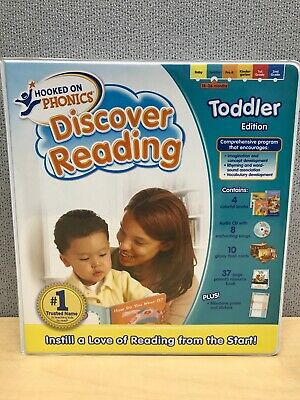 Hooked On Phonics Discover Reading Toddler 18-36 Months Learning Complete