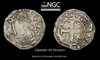 ENGLAND. Henry II. 1158-1180. AR Penny, Tealby type, S-1342, NGC VF Details