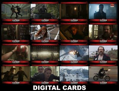 Topps Marvel Collect BLACK WIDOW 2020 TRAILER [16 CARD SET] FAST DELIVERY!