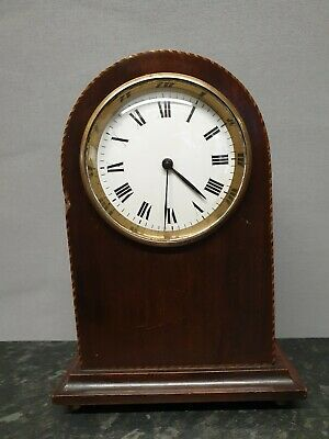 Small Vintage Dome Top 8 Day Mantle Clock with Platform Escapement