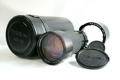 Tokina AT-X SD 80-200mm f/2.8 AF Lens For Nikon w/Case.caps.hood.from JAPAN