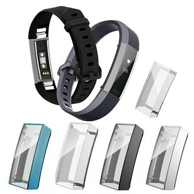 For Fitbit Alta/HR/Ace Soft Silicone Full Cover Case Bumper Screen Protector New