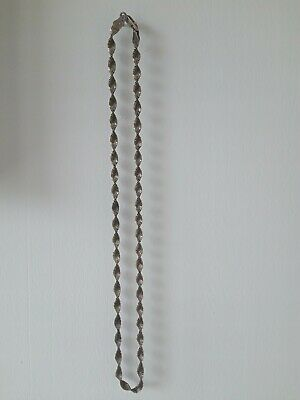 Silver Chain 925  .Brand Italy . Patina