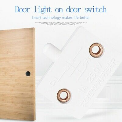 closet cabinet door light switch automatic reset control switch wardrobe switch